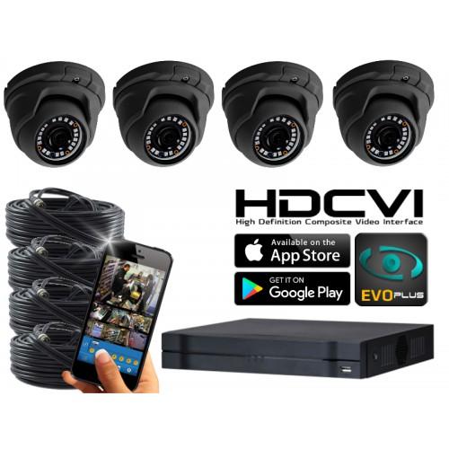 Dahua OEM 1080N Camerasysteem 4 kanaals