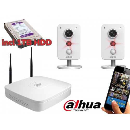 Dahua IP WiFi kit