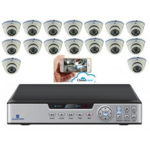 Camerasysteem 16 kanaals