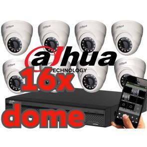 Dahua 720p Camerasysteem 16 kanaals