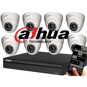 Dahua 720p Camerasysteem 8 kanaals
